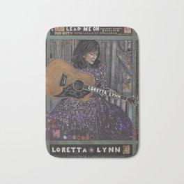 Loretta Lynn Bath Mat