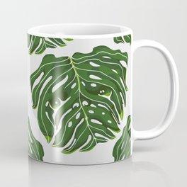 Monstera Pug Coffee Mug
