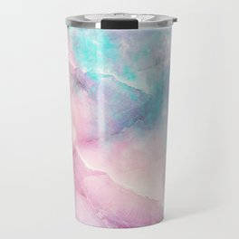 Iridescent marble Travel Mug