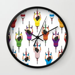 Cycling Squad Wall Clock