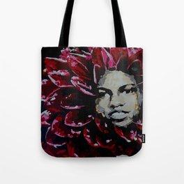 Mama Dahlia Tote Bag