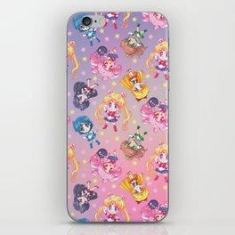 Chibi Sailor Moon Crystal Pattern iPhone Skin