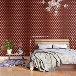 Christmas gifts - red and gold Wallpaper