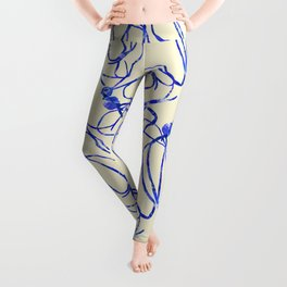 Seaweed Abstract Leggings