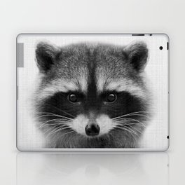 raccoon headshot Laptop & iPad Skin