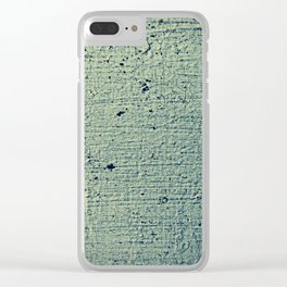 Cracked Paint Clear iPhone Case