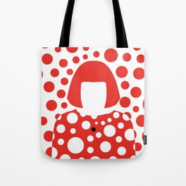 Queen of dots Tote Bag