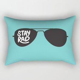 Stay Rad Rectangular Pillow