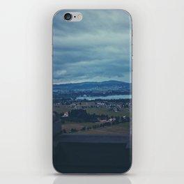 View from Neuschwanstein iPhone Skin