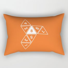 Unrolled D8 Rectangular Pillow