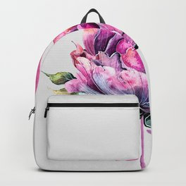 Flower Flamingo Backpack