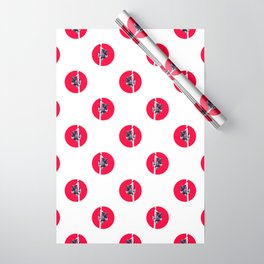 Indri indri sitting in the tree Wrapping Paper