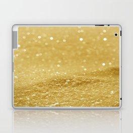 Glitter Gold Laptop & iPad Skin