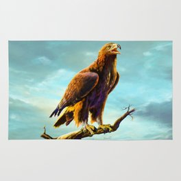 Golden Eagle Rug