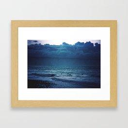 Dark Seas Framed Art Print