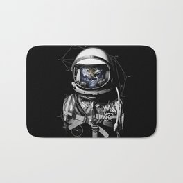 astronaut world Bath Mat