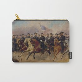 Grant and His Generals Painting Carry-All Pouch