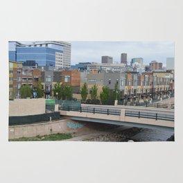 Denver Skyline & Condos Rug
