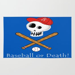 Baseball or Death! Rug