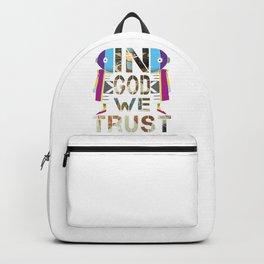 In God We Trust; Dragon Ball - Zeno Backpack