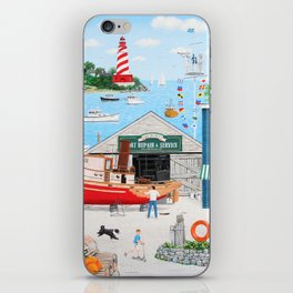 Where the Buoys Are iPhone Skin