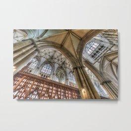 York Minster Cathedral Metal Print