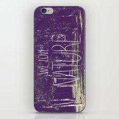 We love Nature iPhone & iPod Skin