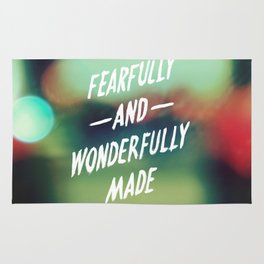 Fearfully and Wonderfully Made 2.0 Rug