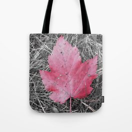 Oh Canada! Red Maple Leaf Tote Bag