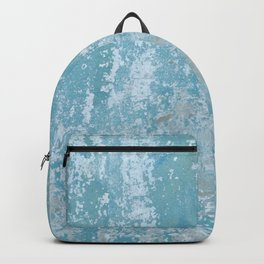 Vintage Galvanized Metal Backpack