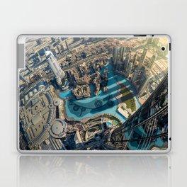 On top of the world, Burj Khalifa, Dubai, UAE Laptop & iPad Skin