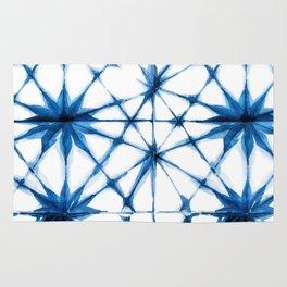 Shibori Tie Dye Pattern Rug