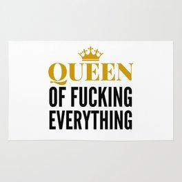 QUEEN OF FUCKING EVERYTHING Rug