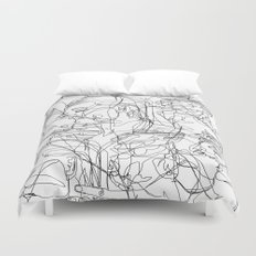 Love on Repeat Duvet Cover