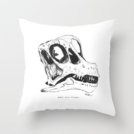 Here, Now, Forever Throw Pillow