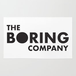 THE BORING COMPANY Rug