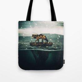 Drifting Upwards Tote Bag