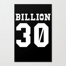 30Billion - Sport Edition 04 Canvas Print