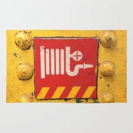 NYC Underground-Fire Hose Rug