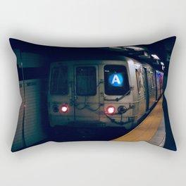 NYC Subway 35mm film Rectangular Pillow