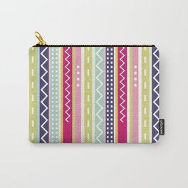 Stripes Chevron Carry-All Pouch