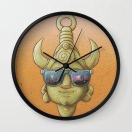 Summer Samulet Wall Clock