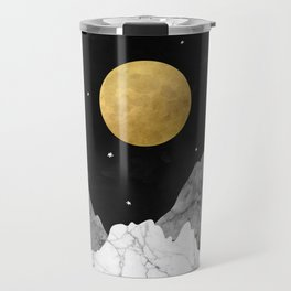 Moon and Stars Travel Mug
