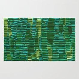 Banana Palm Leaves Abstract Rug