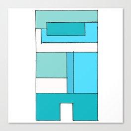 Bricksie Canvas Print