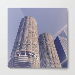 Chicago Afternoon Metal Print