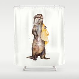 otter Shower Curtain