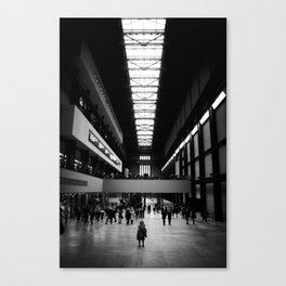 Lost in Tate Canvas Print