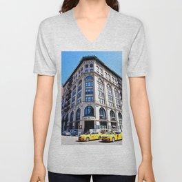 SoHo New York City Street Unisex V-Neck