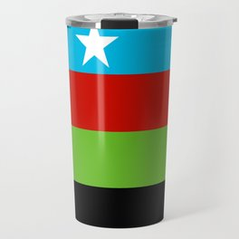Somali Bantu Liberation Movement Flag Travel Mug